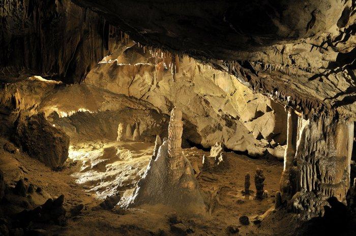 Škocjanske jame - Oton Naglost 1